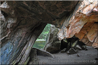 Stable Arch, Abercrombie Caves